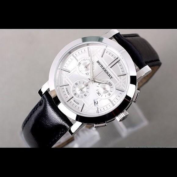 67d2c23f298 Burberry Accessories   Mens Chronograph Watch   Poshmark